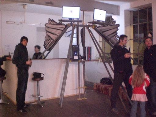 ICU Installation Sigurd Roscher Ulrich Einweg 2009 KunstvereinGRAZ Regensburg