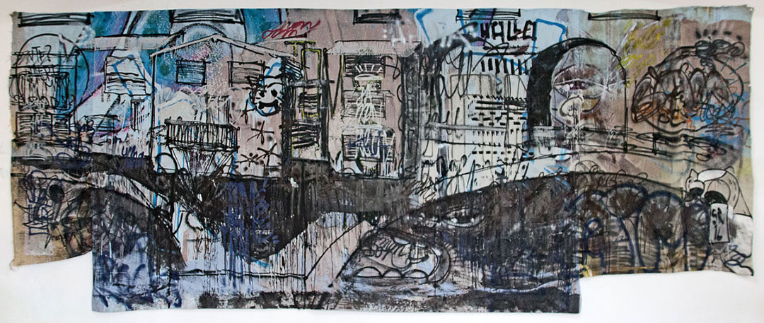 Einzelausstellung im KunstvereinGRAZ 2016 - Edgy badgy ding dong - Sigurd Roscher