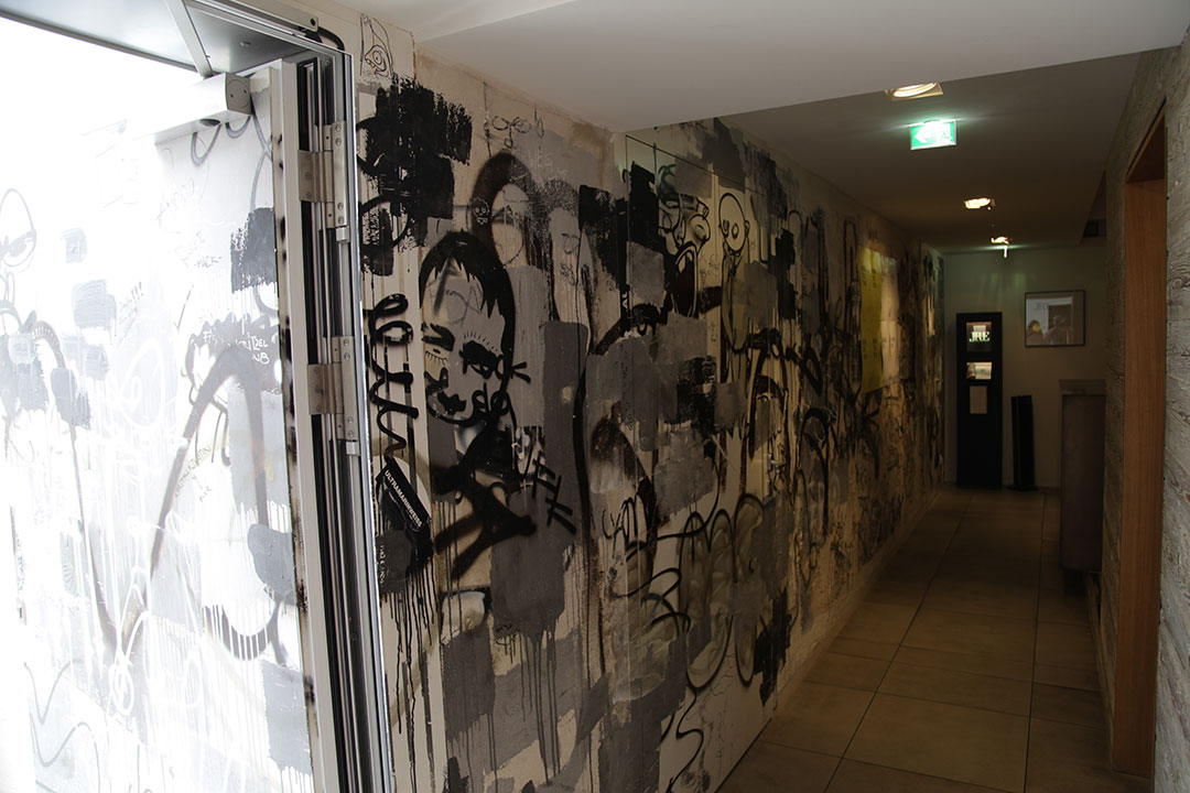 Storstad Wandgestaltung 2014 Regensburg